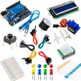 Kit Arduino Uno Basico Mas Completo Para Principiantes Kit01