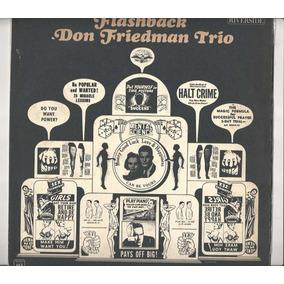 Disco De Vinil Don Friedman Trio 1963 Flashback - Lp 03