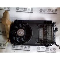 Kit Conjunto Radiador Condensador Ventoinha Gm Celta 03 06