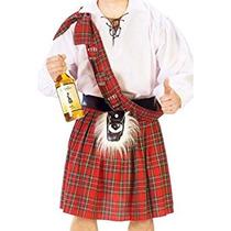 Disfraz Hombres Scottish Kilt