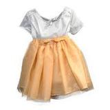 Disfraz De Niña Violetta Vestido Naranja Stock En Talle 3