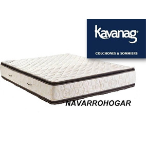 Colchon Kavanagh 160x190 Espuma Alta Densidad Pilow Jackard