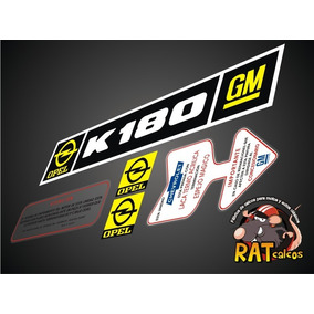 Calcos Opel K-180 / Kit De 5 Calcos