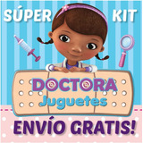 2x1 Doctora Juguete Kit Imprimible Invitaciones + Regalo