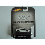 Hot Wheels Retro * Lotus Espirit S1* 007 James Bond