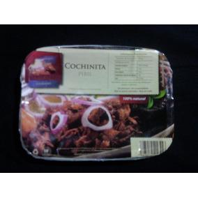 Cochinita Pibil | Charola De Comida Mexicana Precocinada