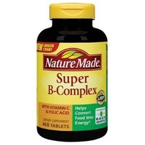 Naturaleza Made Super B Complex 460 Tabletas Tabletas Natura