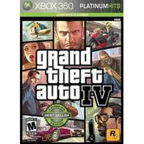 Gta 4 Grand Theft Auto Iv 4 Xbox 360 Original - Novo Lacrado