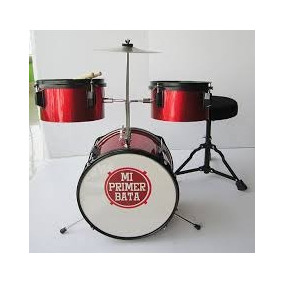 Mi Primer Bata Platillos Bateria Musical Lalelu..super-toys