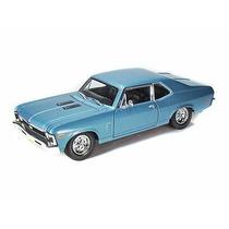 Auto Colección Chevrolet Nova Ss Coupe 1970 1:18 - Maisto