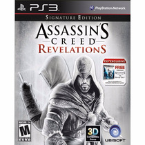 Assassins Creed Revelations Compativel Com 3d - Ps3