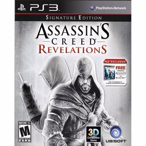 Assassins Creed Revelations Compativel Com 3d - Ps3