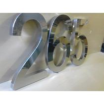 Letras, Letreiros, Fachadas Logotipo E Números Em Aço Inox