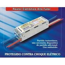 Reator Eletronico Lampada Fluorescente 2x 36w 40w Bivolt