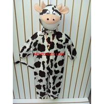 Disfraz Vaca Vaquita Disfraces Traje Vestuario Vaca Niños