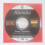Cursos De Idioma Globo Em Dvd Alemão Ingles Frances Espanhol