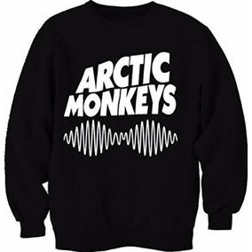 Banda Arctic Monkeys - Moletom Gola Redonda (careca) Unissex