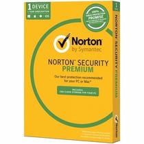 Norton Security Premium 2017 1 Ano 1 Pc Original