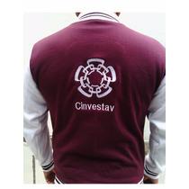 Chamarra Universitaria Cinvestav ,bordada Envio Gratis