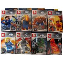 Simil Legos Por Coleccion De Los 4 Fantasticos Y Mas