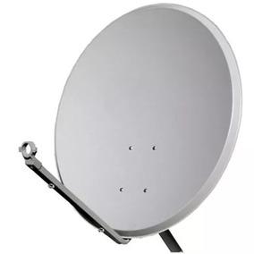 Antena 60cm Completa P/ Banda Ku C/ Lnb Quáduplo Universal.