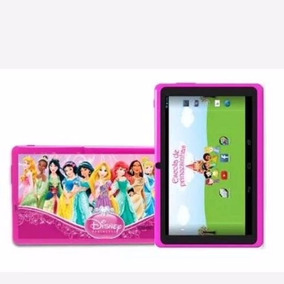 Tablet Navcity Nt-1711 Android 4.0 Wifi Princesas Rosa Preto