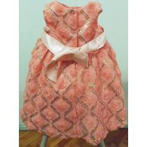 Vestido Importado Usa Rare Editions Bautizo Cortejo Fiesta
