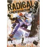 Dvd Radical Underground Electro Techno Lacrado , Dri Vendas