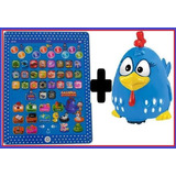 Boneco Galinha Pintadinha + Tablet Infantil Educativo 2em1!!