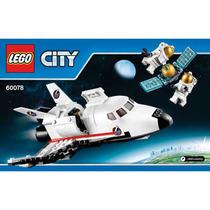 Lego City Avion Nave Espacial Y Figuras 100% Importado