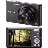 Câmera Compacta Digital Sony Dsc W830 20.1mp Zoom Óptico 8x