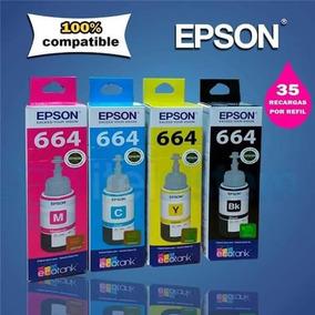 Tintas Para Epson L355, L210, L800, L375 Lo Nuevo De Epson
