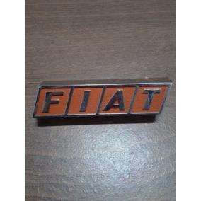 Insignia Fiat 133 De Trompa Original Mod.81