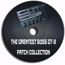 Boss Gt-8 - Kit .com 3000 Patches Pré-programado
