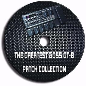 Boss Gt-8 - Kit .com 3000 Patches Pré-programado