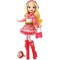Boneca Ever After High Feitiço De Inverno Apple White Mattel