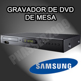 Gravador De Dvd Samsung R170 De Mesa - Nacional / Pal-m!