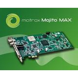 Placa Captura Edicão Exibição Matrox Mojito Max Sdi/hdmi/ana