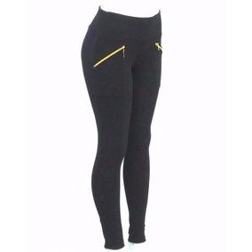 Calça Legging Leg Suplex C Ziper Dos Lados. Pronta Entrega