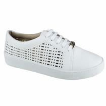 Tênis Bebecê Walking Casual Branco 2113-083