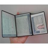 Kit 5 Capa Dut Crlv Documento - Cnh Carteira De Motorista