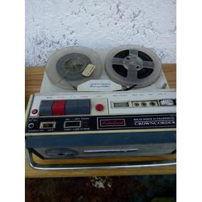 Radio Grabadora De Carrete 60`s Crown Radio No Funciona