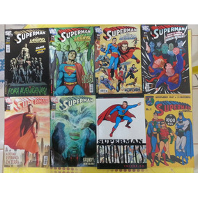 Revistas Superman, Universo Dc, Prelúdio Para A Crise Final