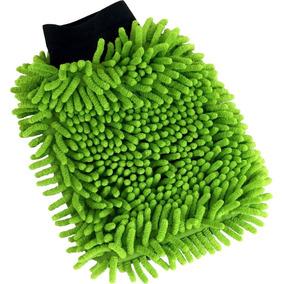 5 Luva Automotiva De Microfibra - Limpeza Geral Cor Sortida