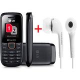 Celular Lg Dual Sim + Fone De Ouvido Samsung
