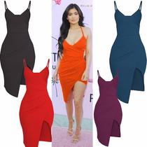 Vestido Assimetrico Mais Lindo Mercado Livre Kylie Kardashia