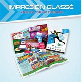 Impresión Glasse 47x32cm Fotos Diplomas Tarjetas Volantes