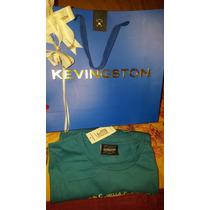 Camiseta Turquesa Kevingston