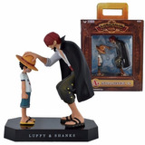 Action Figure One Piece - Luffy E Shanks - Já No Brasil