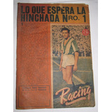 Antgua Revista Racing, Año 5 N° 239, 9 De Enero De 1948